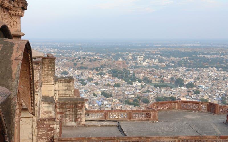 乔德普尔城在印度 免版税库存图片