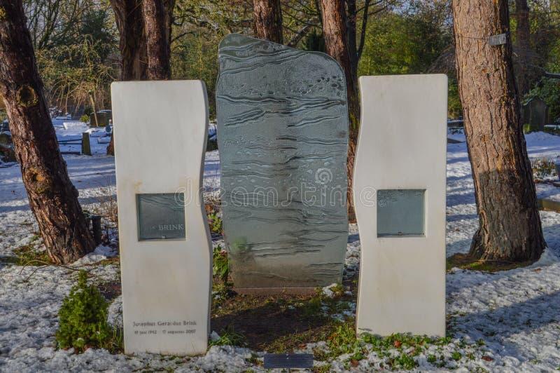 乔斯边缘坟墓在阿姆斯特丹荷兰 库存照片