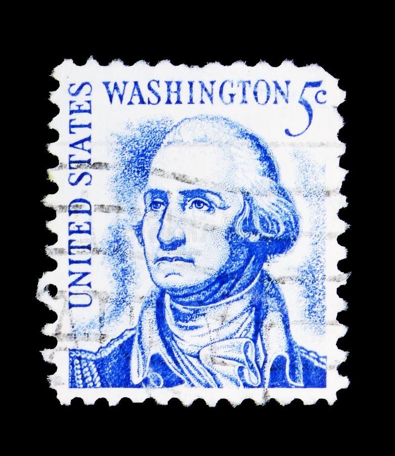 乔治・华盛顿(1732-1799),第1位总统,著名美国人s 免版税库存照片