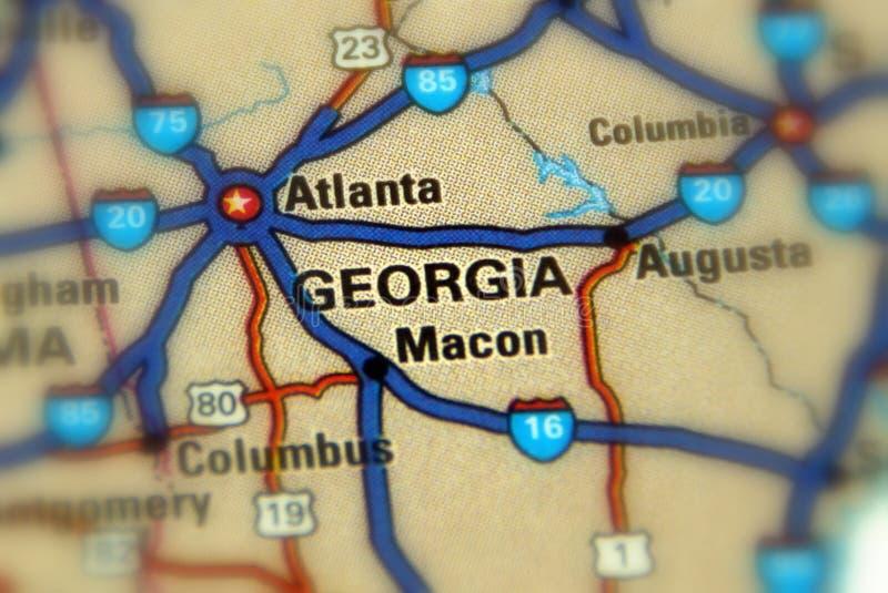 乔治亚,美国 美国 免版税图库摄影