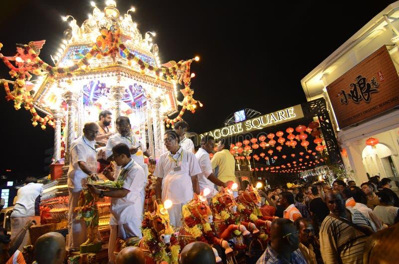 """乔治城, PENANG/MALAYSIA †""""大约2016年1月:印度献身者 免版税库存照片"""