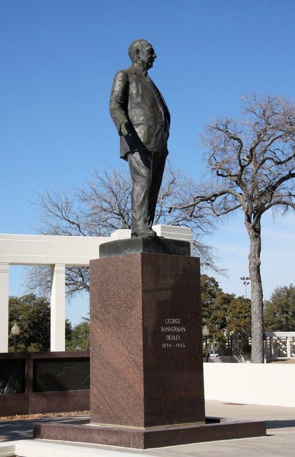 乔治DEALEY雕塑 免版税库存图片