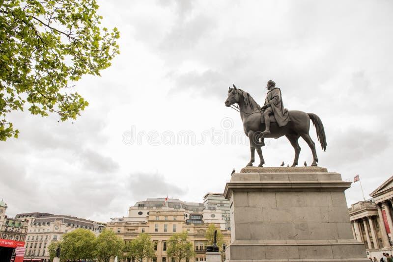 乔治四世,伦敦国王 库存照片