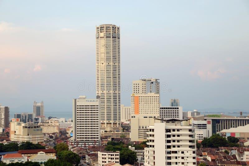 乔治城槟榔岛马来西亚 免版税库存照片