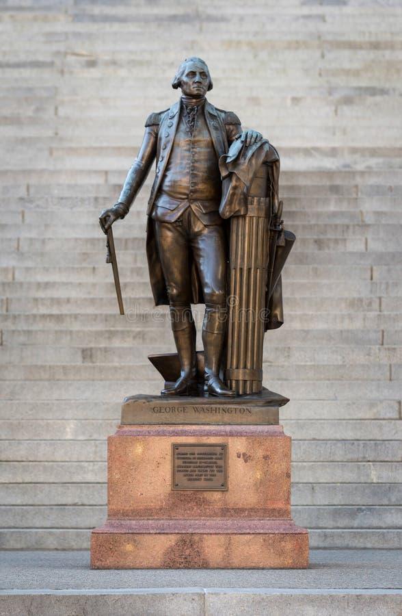 乔治雕象华盛顿 免版税图库摄影