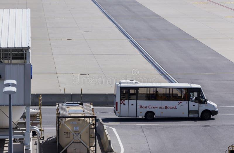 乘员组运输 免版税库存照片
