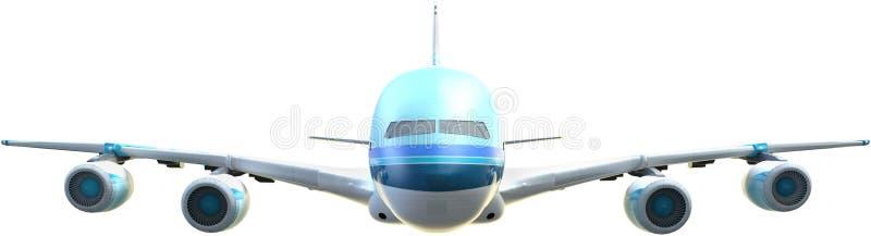乘客航空公司喷气机,飞机,隔绝了 免版税库存照片
