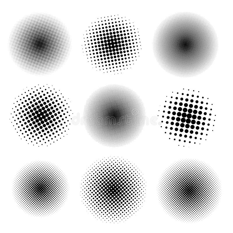 九个斑点 商标的,框架,广告设计 皇族释放例证