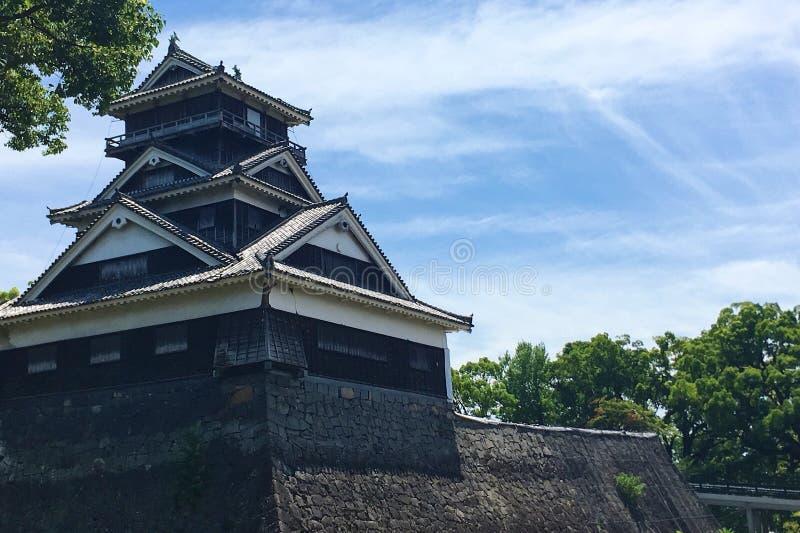 九州日本熊本城堡 免版税图库摄影