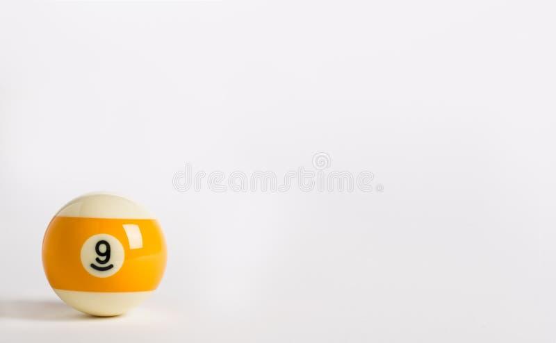 九球 免版税图库摄影