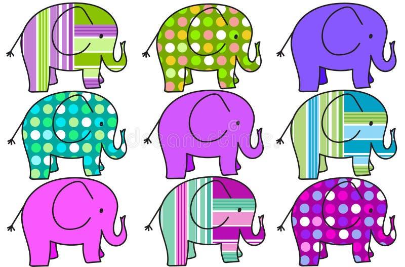 九六色成人影院_九头五颜六色的大象背景