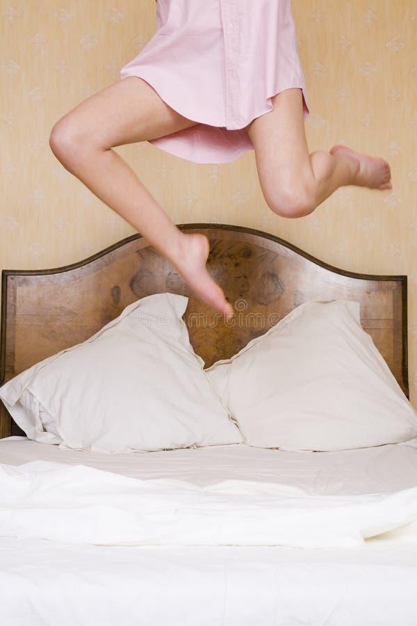 也是卧室兴奋 免版税库存照片