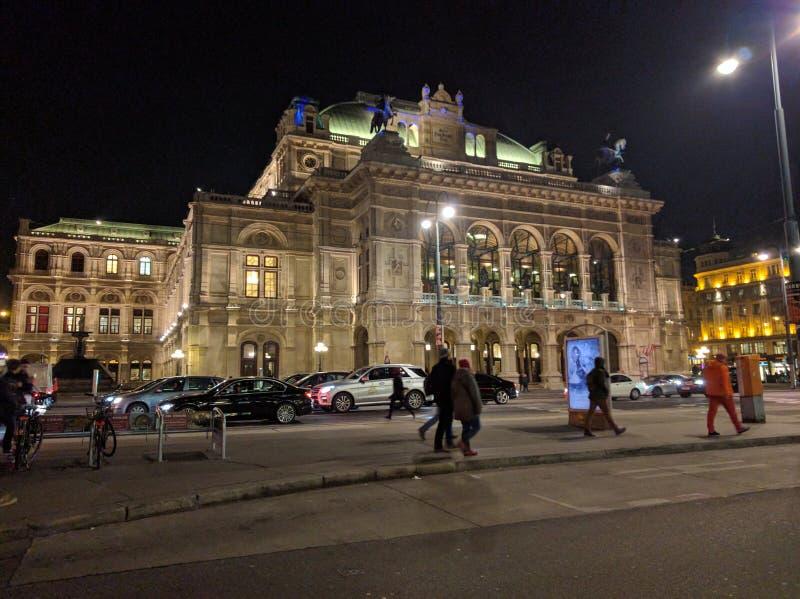 维也纳歌剧院 图库摄影