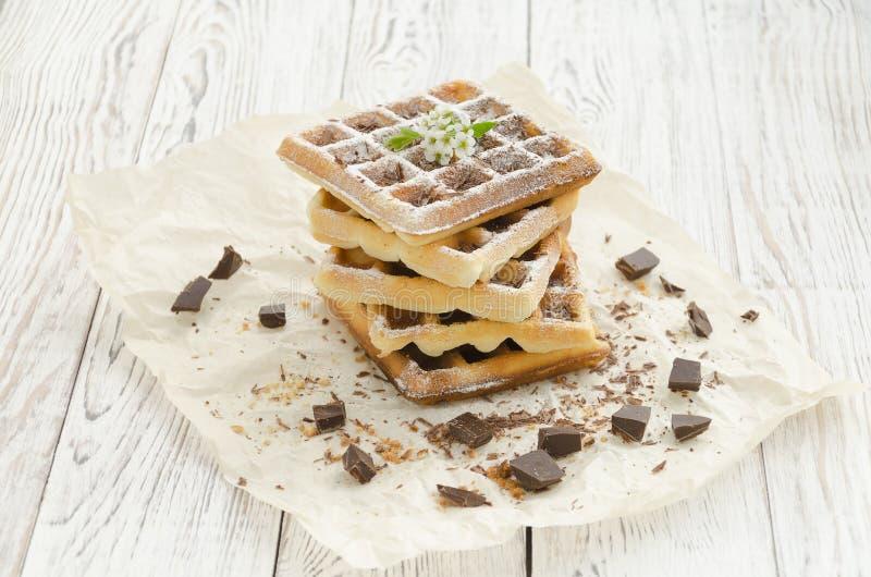 维也纳薄酥饼 烘烤自创 图库摄影