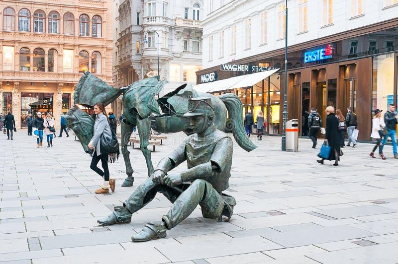 Download 维也纳,奥地利- 2015年10月19日:法国艺术的雕塑 编辑类库存照片 - 图片 包括有 街道, 奥地利: 62539768