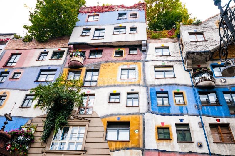 Download 维也纳,奥地利- 2015年10月18日:Hundertwasser Haus在Vienn 编辑类照片 - 图片 包括有 奥地利, 地区: 62539906