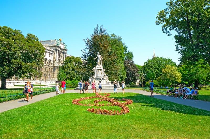 维也纳,奥地利 免版税库存照片