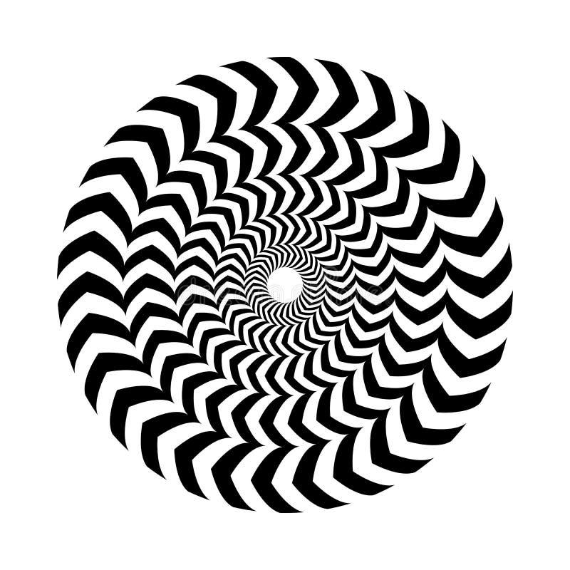 也corel凹道例证向量 圆环,被筑巢一个入其他,容量错觉  库存例证
