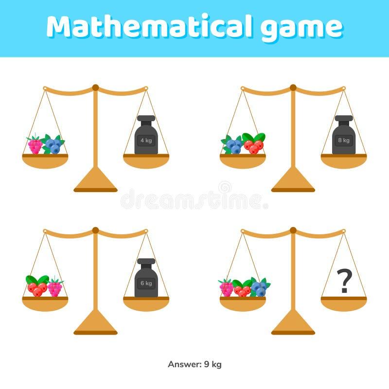 也corel凹道例证向量 学校孩子和幼儿园的算术比赛 向量例证