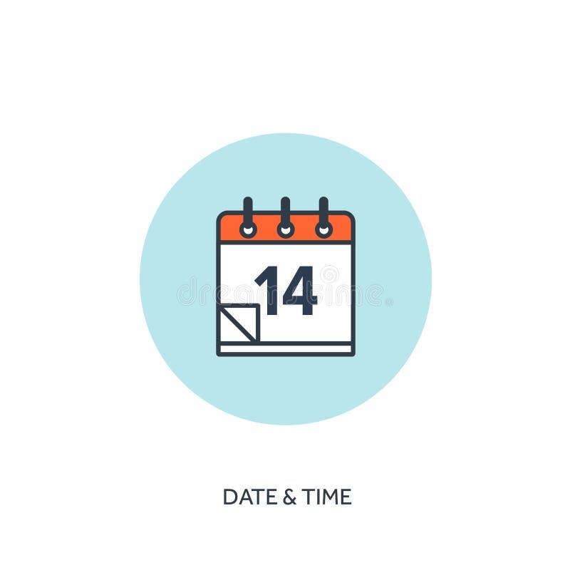 也corel凹道例证向量 日历排行了象 日期-时间 假日计划 向量例证