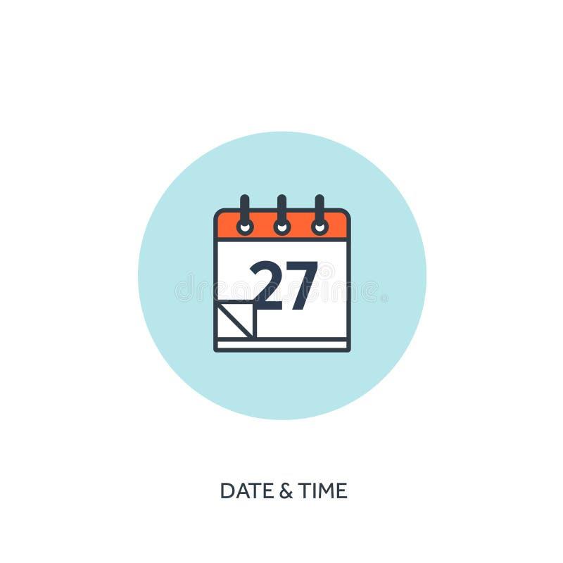 也corel凹道例证向量 日历排行了象 日期-时间 假日计划 皇族释放例证