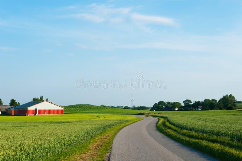 乡下丹麦 免版税图库摄影