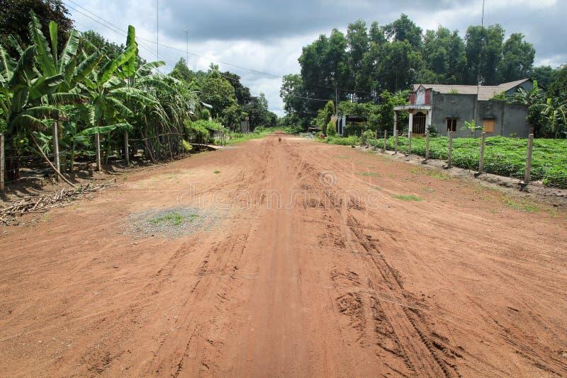 乡下公路越南 库存照片
