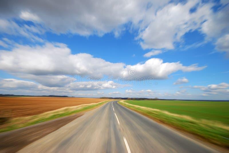 乡下公路 库存图片