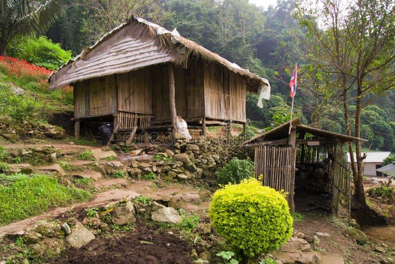 乡下北泰国 图库摄影