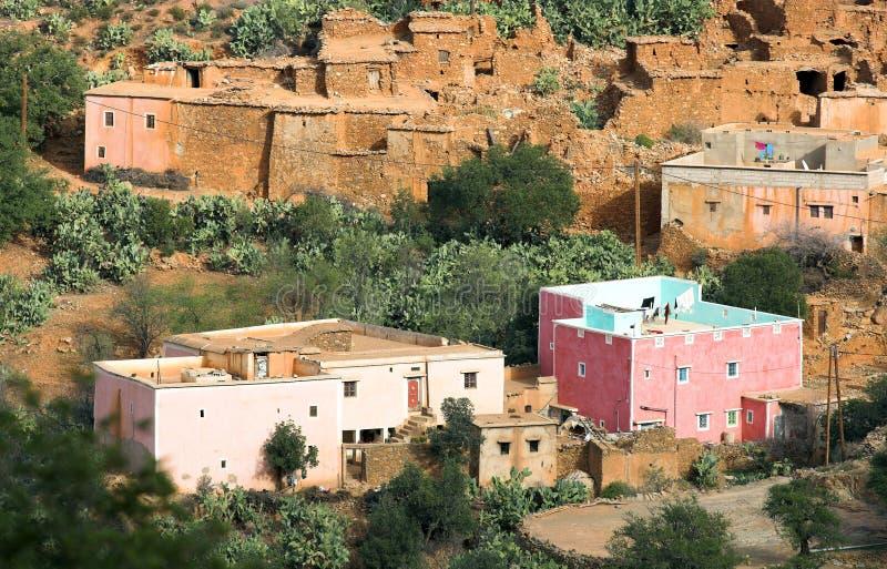 乡下摩洛哥 免版税库存图片