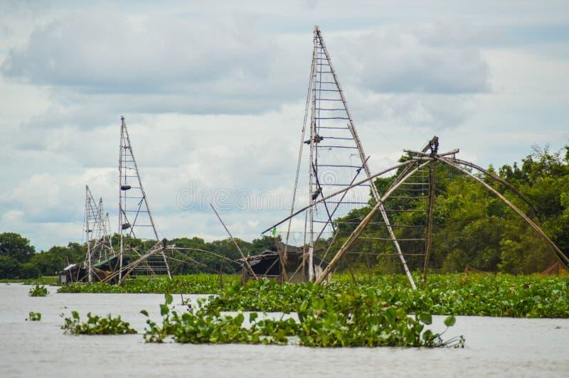 乡下生活在马德望柬埔寨 库存图片