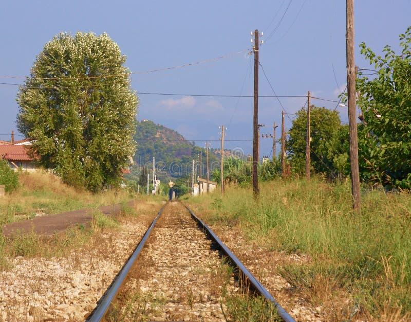 乡下铁路运输 库存照片