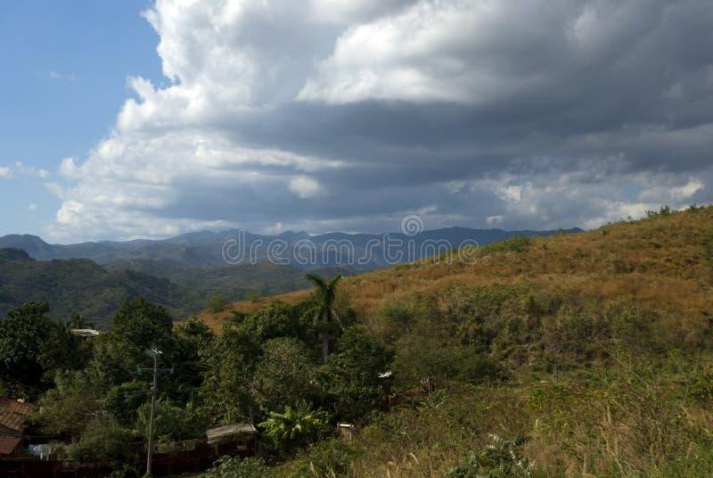 乡下,特立尼达,古巴 库存图片