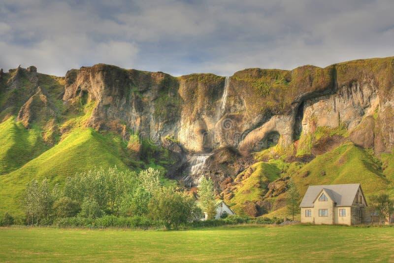 乡下hdr冰岛 库存照片