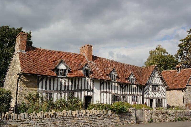 乡间别墅英国 免版税库存图片