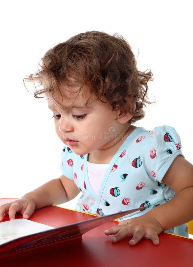 书儿童读取 免版税图库摄影