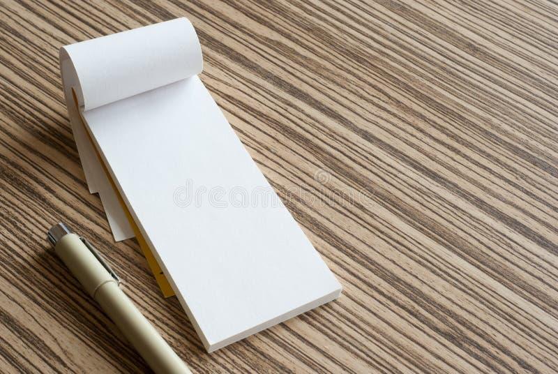 书写纸 免版税库存图片