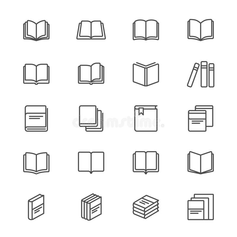书变薄象 向量例证