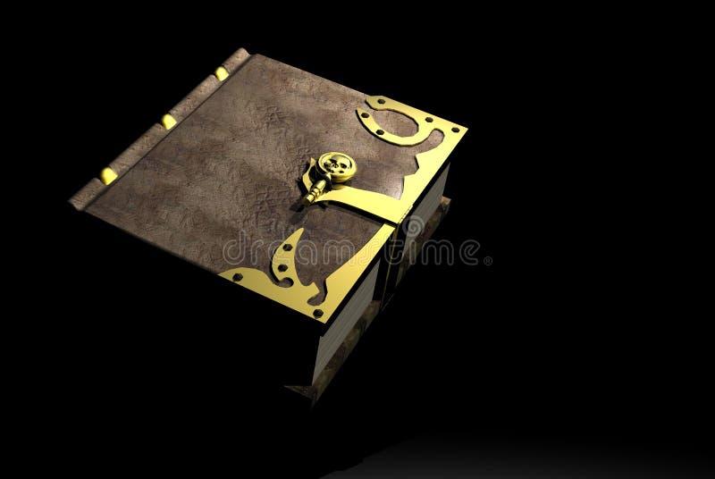 书咒语 皇族释放例证