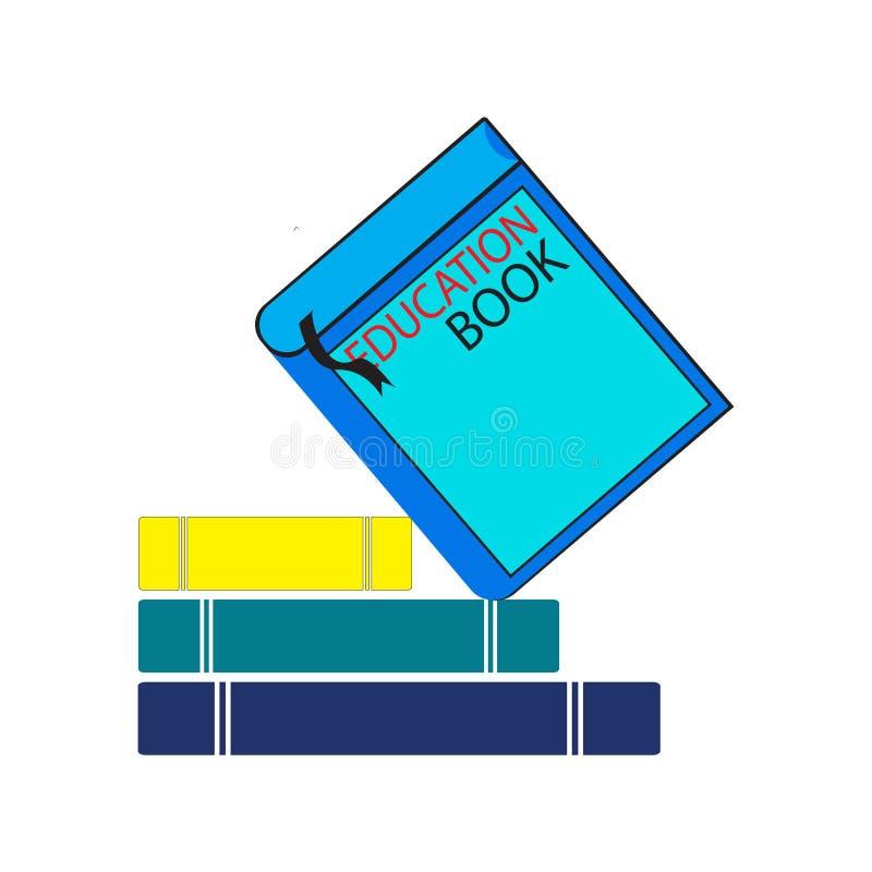 书商标模板传染媒介例证设计 皇族释放例证