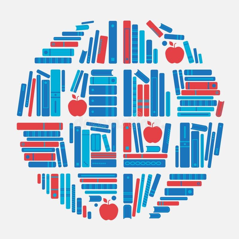 书地球 库存例证