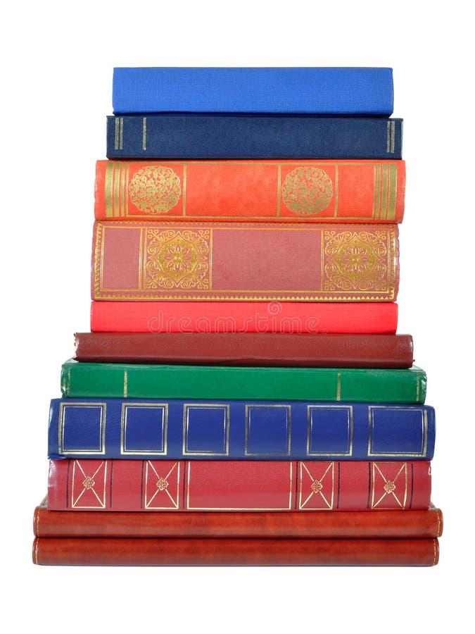 书堆 免版税库存照片