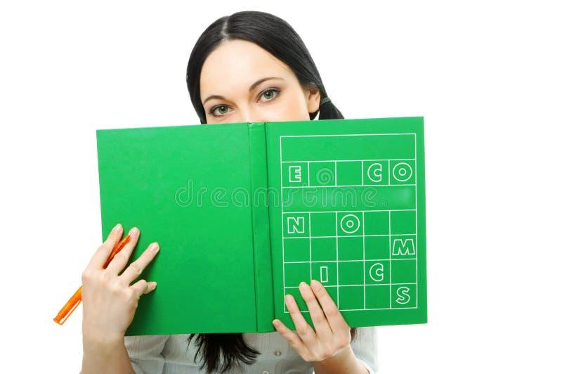 书套妇女 免版税库存照片