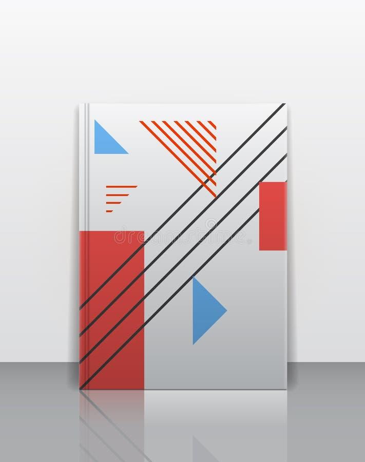 书套设计模板 库存例证