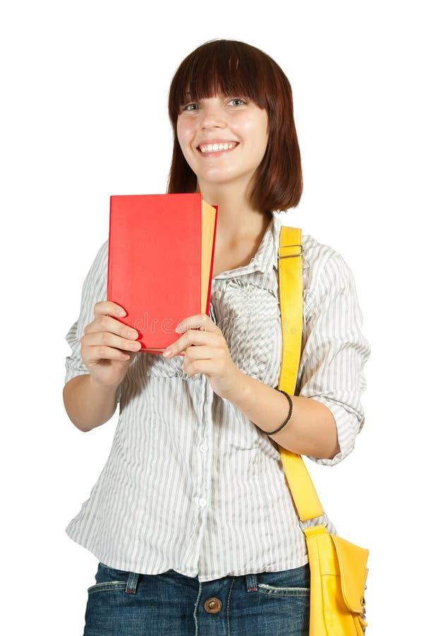书女孩年轻人 免版税库存照片