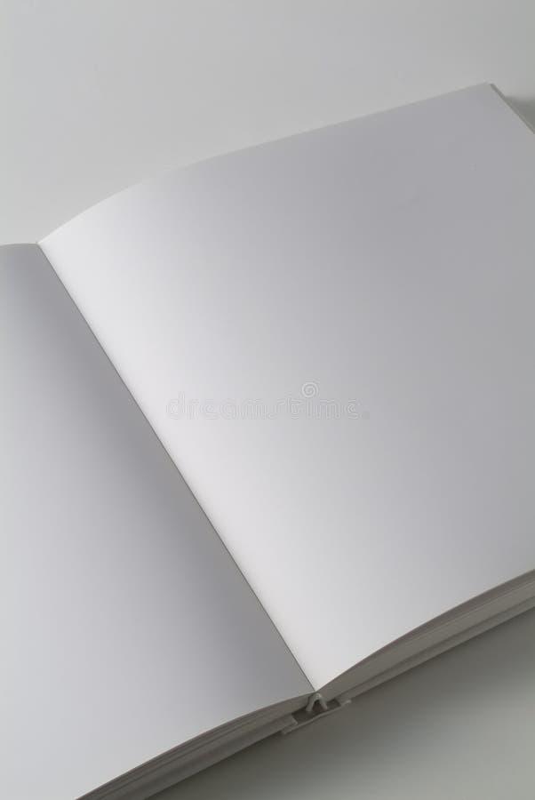 书对角垂直的白色 免版税图库摄影
