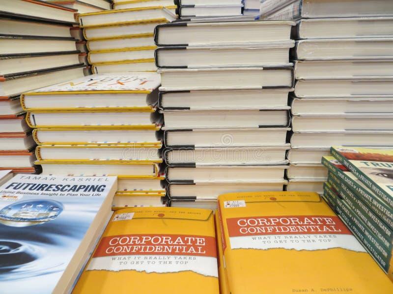书市在坦格朗 免版税库存照片