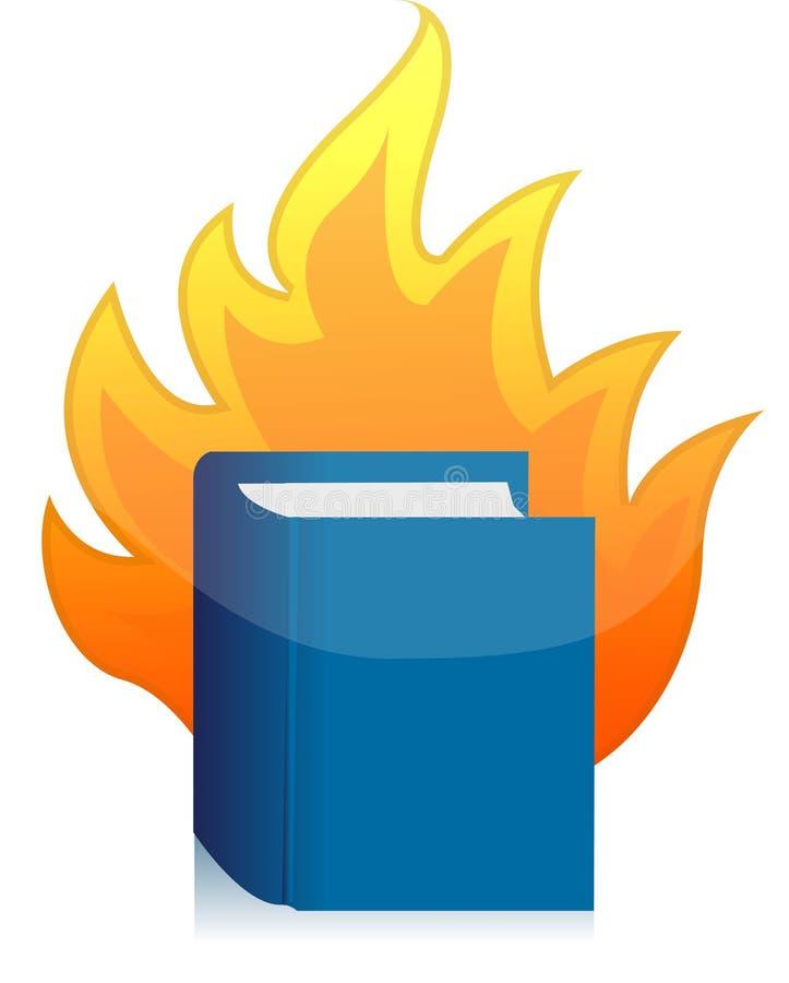 书开放火焰的例证 向量例证