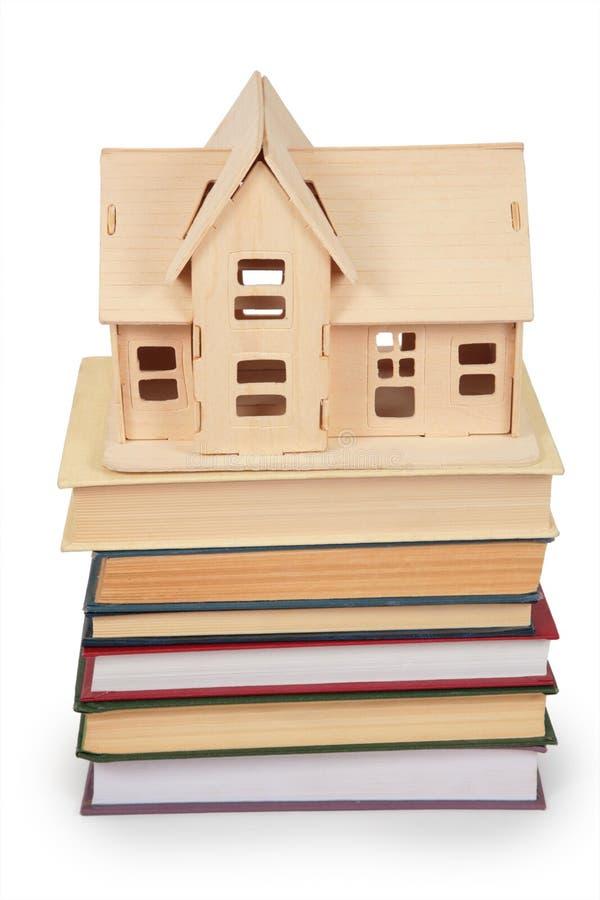 书房子堆玩具 库存图片