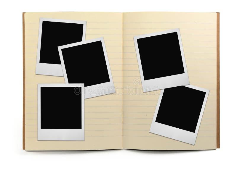 书执行框架排行了照片 库存图片